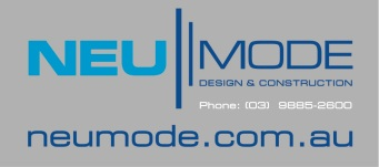 Neumode Logo and Web Silver PMS
